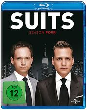 SUITS 4 DIE KOMPLETTE STAFFEL /  SEASON 4 BLU-RAY  DEUTSCH