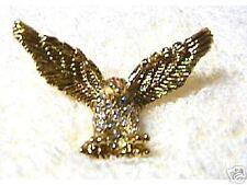Bold, EAGLE PIN, Swarovski Cry., Wings Spread