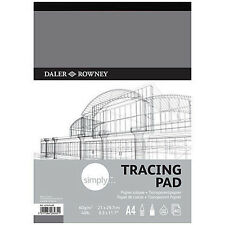 Daler Rowney Simply Tracing Pad - A4