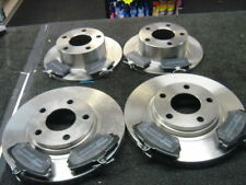 VW PASSAT 97-01  FRONT REAR BRAKE DISCS & PADS 280MM