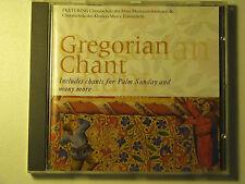 GREGORIAN CHANT CD 1993 Belart Karussell IMPORT Hosanna Domine RARE