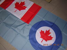 100% NEW reproduced Flag of the Royal Canadian Air Force Blue Ensign Canada 3X5