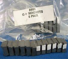 72pr Aurora G+ G-PLUS HO Slot Car Chassis MAGNETS Unused Original Factory Parts!