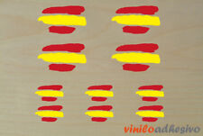 PEGATINA STICKER VINILO Bandera España ref2 kit autocollant aufkleber adesivi