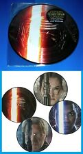 """STAR WARS THE FORCE AWAKENS, 2-LP Picture Disc 12"""" Vinyl, Limited Edition,SEALED"""