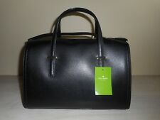 NWT Kate Spade Sheana Black Leather Purse Zip Top Shoulder CrossBody Straps $359