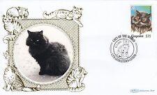 (81178) Guyana Benham FDC Cats - 15 February 2011