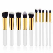 10Pcs Pro Makeup Brushes Powder Blusher Foundation Eyebrow Cosmetics Brush Kits