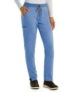 Grey's Anatomy GVSP509 Harper size: XL Scrub Pants ciel blue, NEW Stretch, Barco