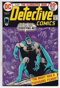 Detective Comics #436 F+ 6.5 Batman Elongated Man!
