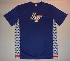 New LAS VEGAS 51s AMERICAN USA FLAG NY METS ALIENS! Minor League JERSEY SHIRT XL