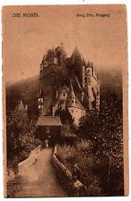 CPA ALLEMAGNE - DIe Mosel - Burg Eltz, Eingang