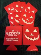 """Reds Apple Ale Beer Glow in the dark Koozies """"Mischevious to the Core"""" Lot of 10"""