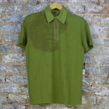 Volcom Nancy Casual Short Sleeve Polo Shirt New - Green - Size: S