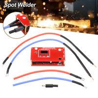 Portable Battery DIY Mini Spot Welder Machine Various Welding Power Supply LCD