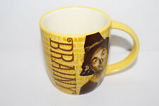 The Wizard Of Oz Scarecrow Brainy Yellow Mug Hallmark Coffee Cup