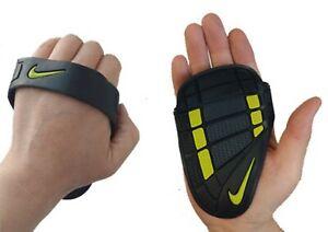 Nike Men Alpha Bench Press Gloves Training Sports Black GYM Glove FE0192-029