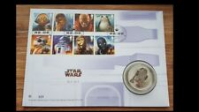 Royal Mail Limited edition 750- Star Wars R2D2 Silver Proof Medal/Coin-623/750