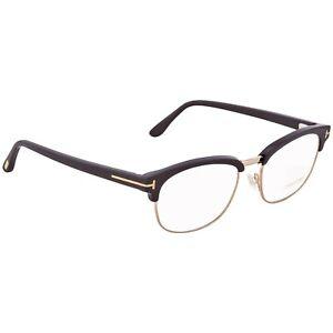 Tom Ford FT 5458 001 Shiny Black, Rose Gold Eyeglasses