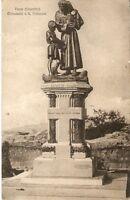 CARTOLINA VERNA( AREZZO ) Monumento a S.Francesco 1921 VIAGGIATA