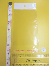 Self Adhesive Clear Resealable Cellophane Bag With Hang Holecello Packaging