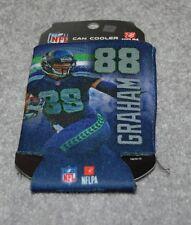 SEATTLE SEAHAWKS JIMMY GRAHAM #88 NFL FOOTBALL SPORT PLAYER CAN COOLER HOLDER