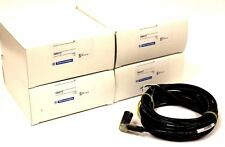 LOT OF 4 NIB TELEMECANIQUE XXZAC117 M12 CABLE 4-PIN W/LEDS 16' RT ANGLE AC-117