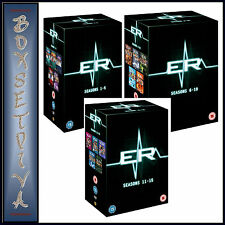ER - COMPLETE SEASONS 1 2 3 4 5 6 7 8 9 10 11 12 13 14 & 15 *BRAND NEW DVD**