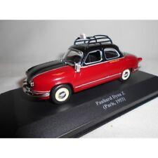 Miniature métal Voiture TAXI Panhard Dyna Z Paris 1953 Altaya 1/43e NEUF