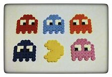 **~ Pac Man & Ghosts - set NAMCO Pixel Hama Decorations ~**
