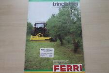 163500) Ferri Grashäcksler Schnittholzreißer Prospekt 198?