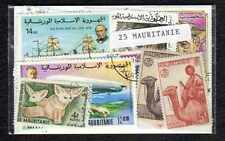Mauritanie - Mauritania 25 timbres différents