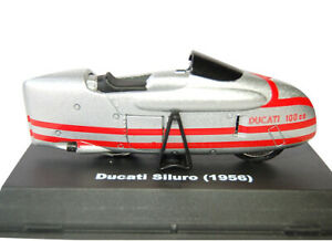 Ducati Siluro (1956) in Silver (1:32 scale by New-Ray Toys 06033A)