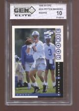 Peyton Manning RC 1998 Score #233 Colts HOF Rookie GEM Elite 10 Pristine