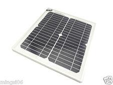 misol 10w solar panel for 12V system, mono panel photovoltaic panel solar module