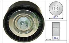 INA Polea inversión/guía correa poli V Para MERCEDES RENAULT CLIO 532 0570 10