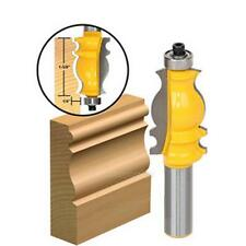"1/2"" Shank Architectural Molding Router Bit Trimming Cutter Tool for Woodworking"