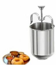 Doughnut Donut Maker Stainless Steel Menduwada Meduwada Dispenser