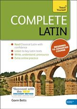 Complete Latin (Learn Latin with Teach Yourself) (Book & Audio CD. 9781444195835