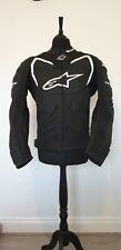 Men's Motorcycle Motorbike Leather Jacket Size UK LARGE / EU 52
