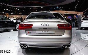 Audi A6 S6 4G2 C7 2011-2017 Boot Lip Spoiler wing UK SELLER