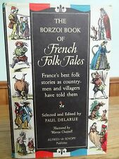 The Borzoi Book of French Folk Tales, First Edition, 1956