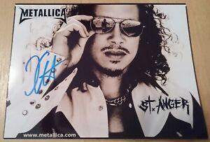 Metallica - Kirk Hammett - Original signiert Autogramm - Photo signed autograph