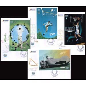 ARGENTINA/COVERS, 2008 - ARGENTINE SPORT IDOLS ,MANU GINOBILI..FDC