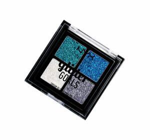 NYX PROFESSIONAL MAKEUP GLITTER GOALS QUAD PALETTE GLACIER 4x1G