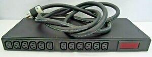 Eaton Powerware DBH-10026 PDU 24A 15A Breaker Branch 12 Outlet