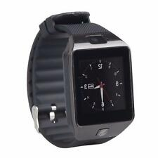 Bluetooth Smart Watch DZ09 SIM Camera For Android IOS Phone iPhone Samsung Black