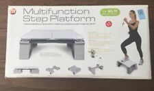 Multifunctional Wii Fit , Wii Plus, Exercise Double Step Aerobic Platform Jumps