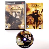 Contra: Shattered Soldier (Sony PlayStation 2, 2002) Complete Tested & Works