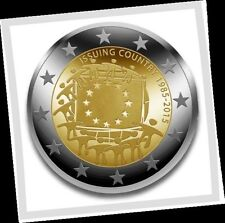 2 EURO *** Irlande 2015 Ierland - 30 jaar Europese vlag - Drapeau Européen !!!